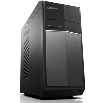 Компьютер LENOVO IdeaCentre 710-25ISH, Intel Core i56400, DDR48Гб, 1000Гб, nVIDIA GeForce GTX 750Ti— 2048 Мб, DVD-RW, CR, Windows 10, черный [90fb002jrs]