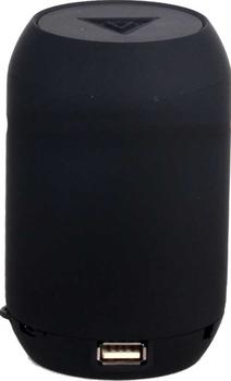 Портативная колонка GINZZU GM-999C, 3Вт, черный