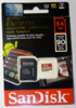 Карта памяти microSDXC UHS-I U3 SANDISK Extreme 64 ГБ, 90 МБ/с, Class 10, SDSQXVF-064G-GN6MA,  1 шт., переходник SD вид 3