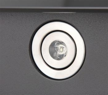 Вытяжка каминная Shindo Nori 60B/BG черный/черное стекло управление: кнопочное (1 мотор)