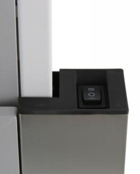 Вытяжка встраиваемая Shindo LIBRA 50PB белый управление: кнопочное (1 мотор)