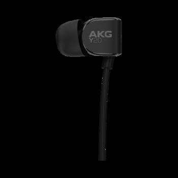Наушники AKG Y20BLK, 3.5 мм, вкладыши, черный