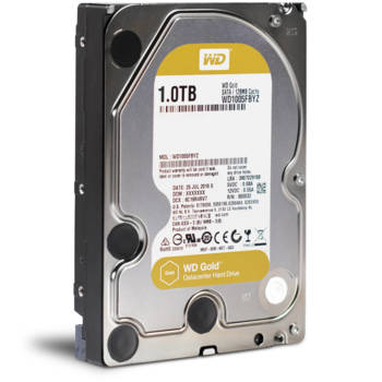 Жесткий диск WDGold WD1005FBYZ, 1Тб, HDD, SATA III, 3.5