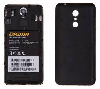 Смартфон DIGMA MOTION 4GCITI, черный