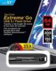 Флешка USB SANDISK Extreme 64Гб, USB3.1, черный [sdcz800-064g-g46] вид 5