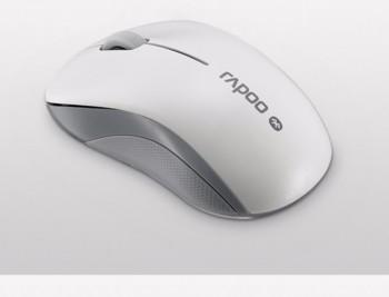 Мышь RAPOO 6010B, оптическая, беспроводная, белый