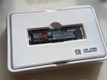 SSD накопитель SAMSUNG 960EVO MZ-V6E250BW 250Гб, M.22280, PCI-E x4, NVMe