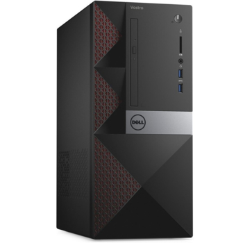 Компьютер DELL Vostro 3667, Intel Pentium G4400, DDR44Гб, 500Гб, Intel HDGraphics 510, CR, Linux, черный [3667-8053]