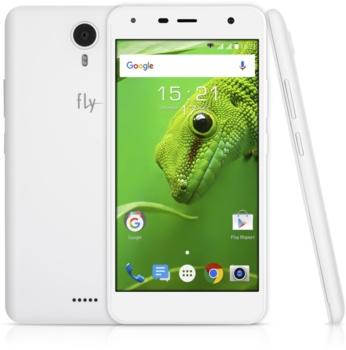 Смартфон FLY Cirrus 11FS517, белый/золотистый