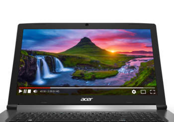 Ноутбук ACER Aspire A715-71G-56BD, 15.6, Intel Core i5 7300HQ 2.5ГГц, 8Гб, 1000Гб, nVidia GeForce GTX 1050 — 2048 Мб, Linux, NX.GP8ER.003, черный
