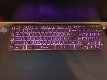 Клавиатура OKLICK 560ML, USB, черный