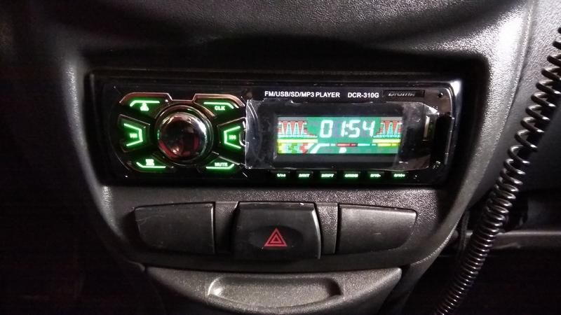 Автомагнитола Digma DCR-310G - фото 10