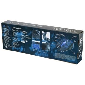 Гарнитура игровая OKLICK HS-HKM100G IMPERIAL, для компьютера, мониторы, черный