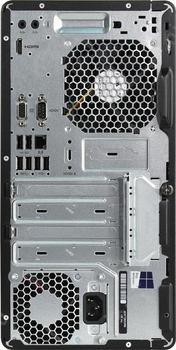 Компьютер HP290G1, Intel Core i37100, DDR44Гб, 1000Гб, Intel HDGraphics 630, DVD-RW, Windows 10Professional, черный [2mt23es]