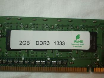 Модуль памяти HYNIX HMT325U6CFR8C-H9N0DDR3— 2Гб 1333, DIMM, OEM, 3rd