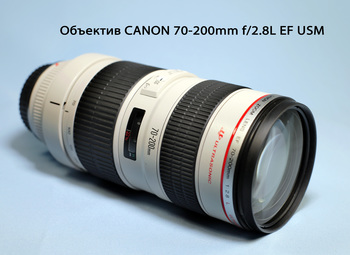 Объектив CANON 70-200mm f/2.8L EF USM, Canon EF [2569a018]