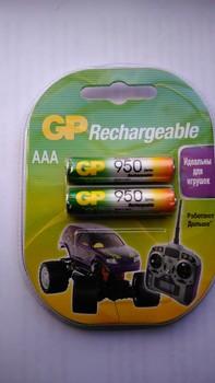 AAA Аккумулятор GP95AAAHC, 2 шт. 950мAч