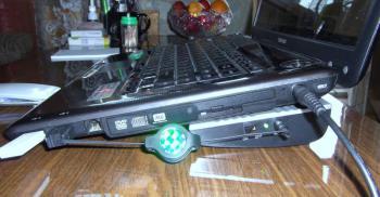 Подставка для ноутбука Titan TTC-G6TZ 20410×115×32мм 13.2дБ 4x 60ммFAN