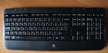 Комплект (клавиатура+мышь) LOGITECH MK520, USB, беспроводной, черный и серый [920-002600]