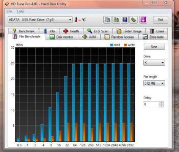 Флешка USB A-DATA Classic C0088Гб, USB2.0, голубой и белый [ac008-8g-rwe]