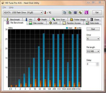 Флешка USB A-DATA Superior S00716Гб, USB2.0, зеленый [as007-16gb-rgn]