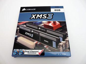 Модуль памяти CORSAIR XMS3CMX8GX3M2A2000C9 DDR3— 2x 4Гб 2000, DIMM, Ret