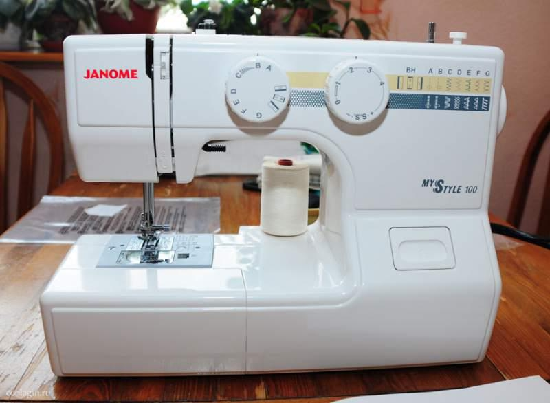 Швейная Машина Janome My Style 100 инструкция