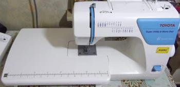 Швейная машина TOYOTA Jeans JSA 21 белый