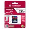 Карта памяти SDHC UHS-I TRANSCEND Premium 32 ГБ, 30 МБ/с, 200X, Class 10, TS32GSDHC10,  1 шт. вид 3
