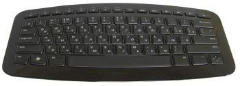 Клавиатура MICROSOFT Arc, USB, Радиоканал, черный [j5d-00014]
