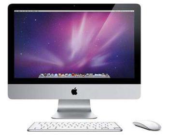 Моноблок APPLE iMac MC812, 21.5, Intel Core i52500S, 4Гб, 1Тб, AMD Radeon HD6670M— 512 Мб, DVD-RW, Mac OS X 10.6Snow Leopard, серебристый [mc812rs/a]