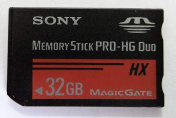 Флеш карта MSPro Duo HDDuo 32Gb Sony MSHX32B/K1HX w/o adapter
