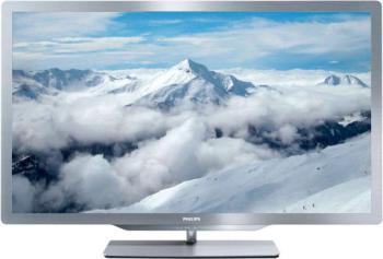LED телевизор PHILIPS 47PFL7606H/60R, 47, 3D, FULL HD (1080p), серый