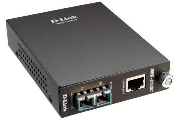 Медиаконвертер D-Link DMC-810SC 1000Base-T Gigabit Twisted-pair to1000Base-LX 10km SC