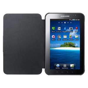 Чехол кожанный Samsung EF-C980NBECSTD черный для Samsung Galaxy Tab P1000