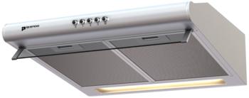 Вытяжка козырьковая Shindo Gemma 50W белый управление: кнопочное (1 мотор)