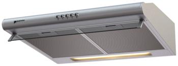 Вытяжка козырьковая Shindo Gemma 60SS нержавеющая сталь управление: кнопочное (1 мотор)