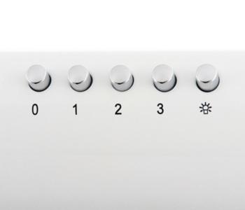 Вытяжка козырьковая Shindo Gemma 60W белый управление: кнопочное (1 мотор)