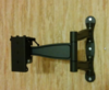"""Кронштейн для телевизора Kromax TECHNO-5 серый 15""""-55"""" макс.35кг настенный поворот и наклон вид 7"""