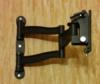"""Кронштейн для телевизора Kromax TECHNO-5 серый 15""""-55"""" макс.35кг настенный поворот и наклон вид 3"""