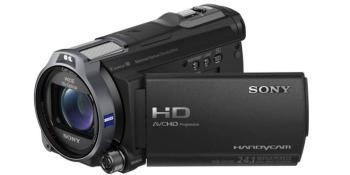 Видеокамера SONY HDR-CX740VE, черный, Flash [hdrcx740veb.cel]