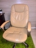 Кресло руководителя БЮРОКРАТ Ch-868AXSN, на колесиках, искусственная кожа, бежевый [ch-868yaxsn/beige] вид 7