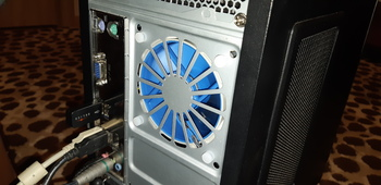 Вентилятор DEEPCOOL UF80, 80мм, Ret