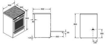 Электрическая плита BOSCH HCE633150R, стеклокерамика, серебристый