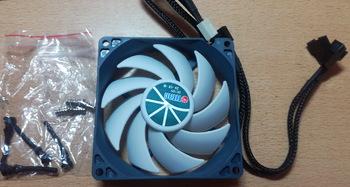 Вентилятор TITAN TFD-9225H12ZP/KU(RB), 92мм, Ret
