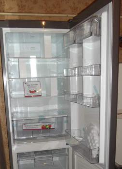 Холодильник LG GA-B409SLQA, двухкамерный, серебристый