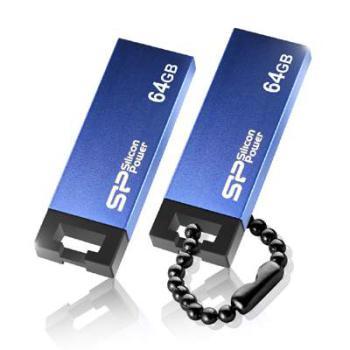 Флешка USB SILICON POWER Touch 83532Гб, USB2.0, серый [sp032gbuf2835v1t]