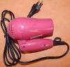 Фен ROLSEN HD1016R Air Compact, 800Вт, розовый вид 9
