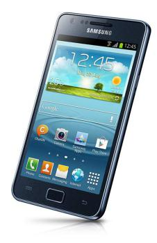 Смартфон SAMSUNG Galaxy S IIPlus GT-I9105, синий