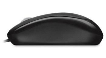 Мышь MICROSOFT Basic оптическая проводная USB, черный [p58-00059]